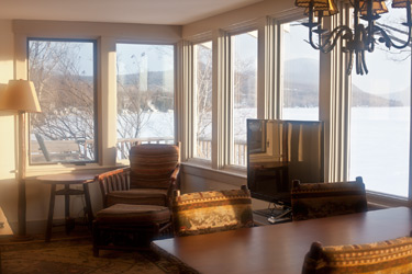 The birches lakefront cottage the willoughvale inn on for Lake willoughby cabins
